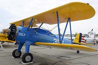Stearman E75 N5085N, May 14, 2011